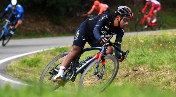 Ciclista ecuatoriano obtiene tercer puesto en Tour de Los Alpes Marítimos.