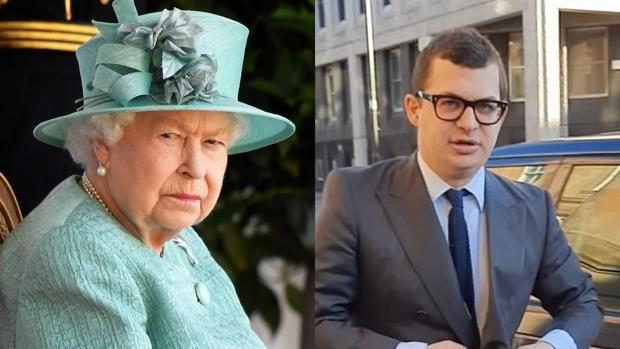 El padre de Simon Bowes-Lyon es sobrino nieto de la reina Isabel.  Collage: ABC