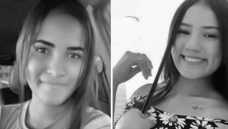 Eliannys Andreína Martínez Roñoz, de 17, y Eduarlis Carolina Falcón Torrealba, de 20 años. Foto: @TarekWiliamSaab