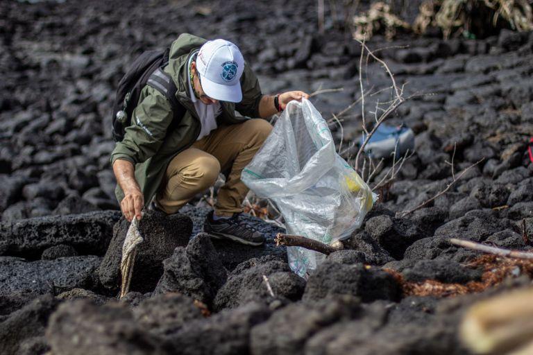 Gracias a la participación de 60 voluntarios se logró recolectar 770 kilogramos de desechos en Santa Cruz.