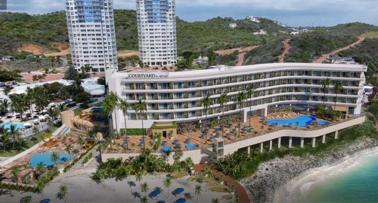 El Courtyard by Marriott-Resort estará junto al Ocean Club Playas.