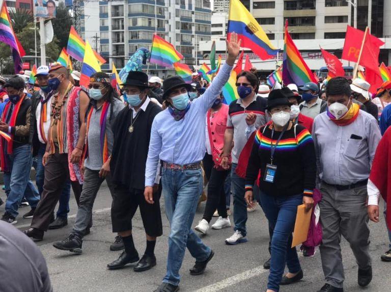 Ecuarunari también alertó que el candidato presidencial Yaku Pérez (PK) ha recibido amenazas contra su vida y responsabilizarán al CNE por lo que le llegue a ocurrir.