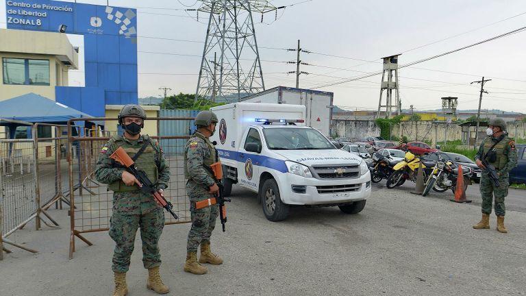 Las requisas se realizaron en los Centros Regionales de Guayas, Cotopaxi y Azuay. Los tres donde se presentaron disturbios la última semana.