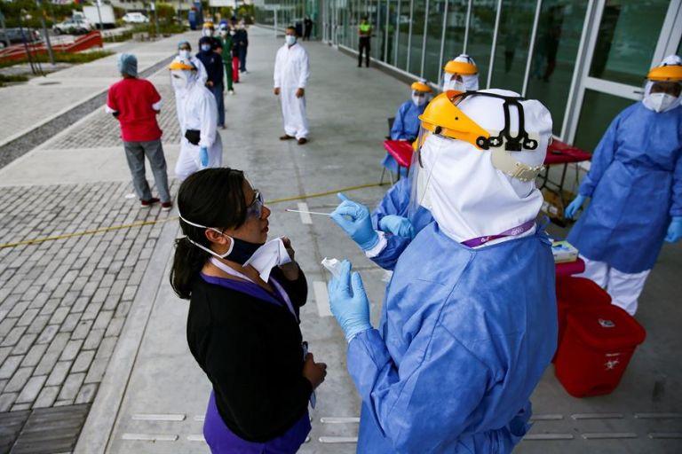 Quito acumula mayor incidencia de contagios con 102.322, 182 más que ayer. Foto: EFE