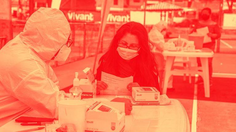 En Cuenca, la autoridad adquirió pruebas rápidas de anticuerpos covid-19, del laboratorio chino Wondfo. Foto Xavier Caivinagua