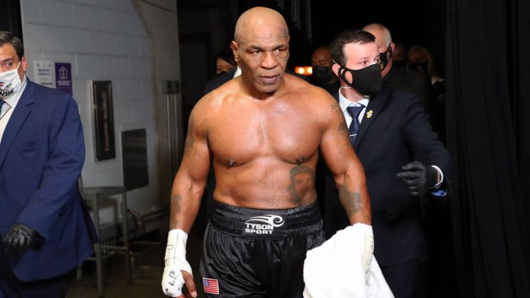 Mike Tyson: Foto: USA TODAY Sports