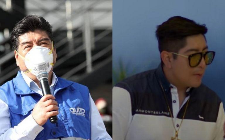 """""""Se ha pretendido involucrar a mi hijo en actos de corrupción"""", manifestó el alcalde de Quito."""