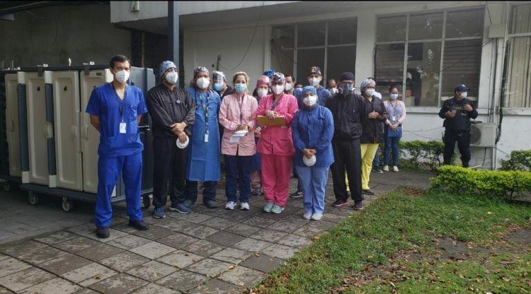 El hospital ha dado de alta a 1.004 pacientes con COVID-19 y brindó asistencia a otras 9775 personas.
