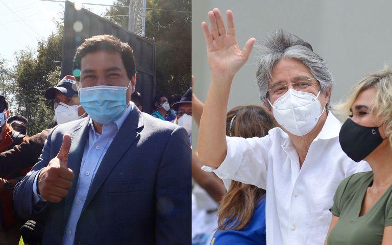 Imágenes de la primera vuelta electoral en Ecuador. Foto: Archivo