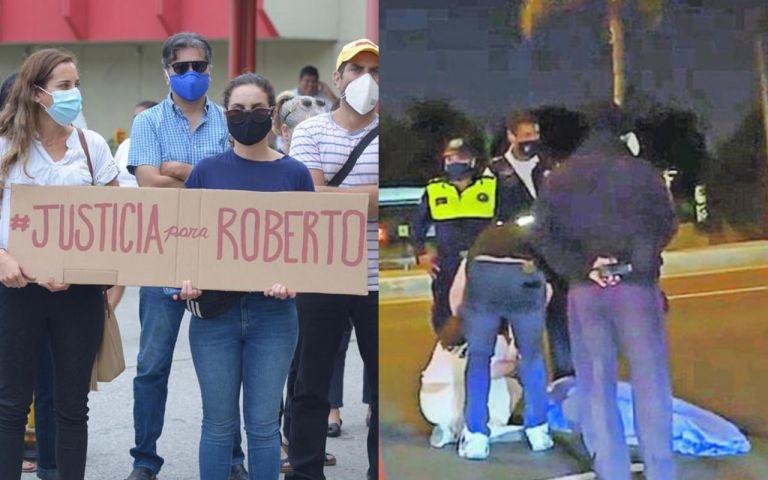 Roberto Malta y Santiago Jaramillo fallecieron a causa de accidentes viales.  Foto: Archivo