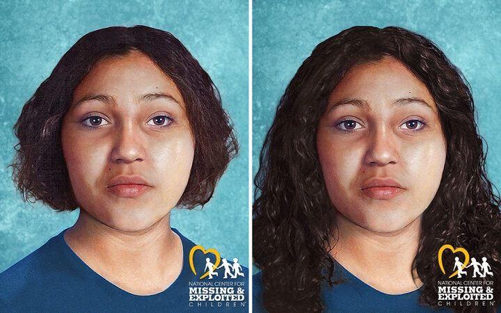 Se habían utilizado imágenes creadas por el Centro Nacional para Niños Desaparecidos y Explotados para tratar de identificar a una víctima de homicidio de 1976, que resultó ser Evelyn Colon. Foto: NY Times.