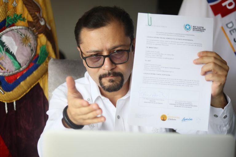 Falconí fue designado el pasado 19 de marzo como ministro en reemplazo de Rodolfo Farfán.