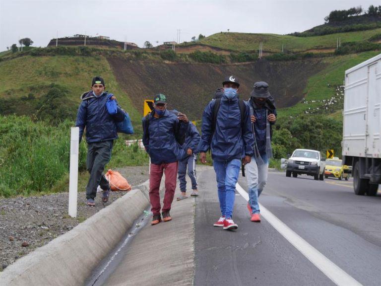 Para Lasso, la migración venezolana es equiparable a la de los ecuatorianos que abandonaron el país en distintos momentos. Foto: EFE