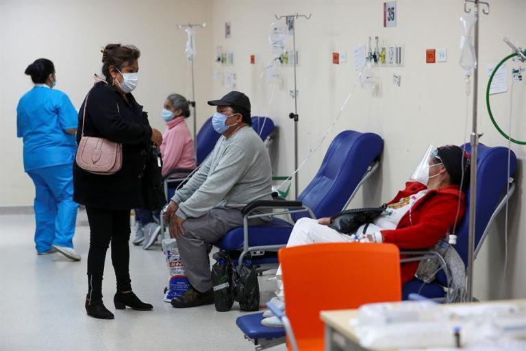 514.151 personas han sido ya vacunadas con la primera dosis. Foto: EFE