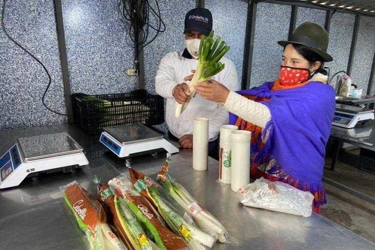 El préstamo de cooperación contribuirá al fomento del encadenamiento e integración agrícola sostenible en Ecuador.