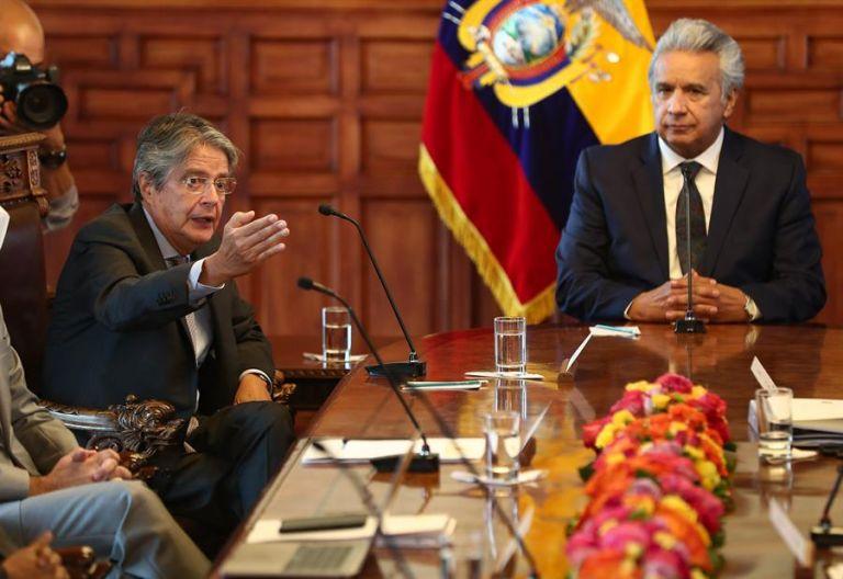 Moreno resolvió detener todos los procesos de contratación hasta la investidura. Foto: EFE