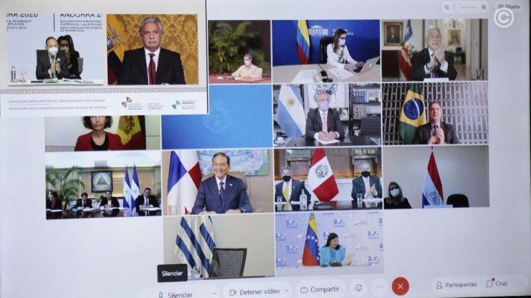 Los presidentes de Ecuador, Uruguay, Chile y Colombia condenaron el régimen  de Maduro durante la Cumbre Iberoamericana | Vistazo