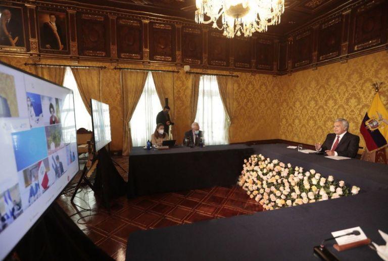 Varias naciones participantes en la Cumbre criticaron duramente a Maduro. Foto: Presidencia Ecuador