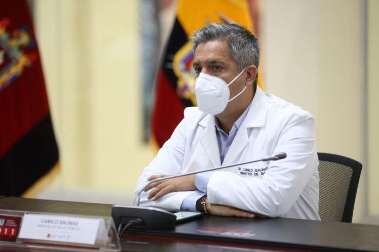 """""""Dejaremos 2 millones de dosis para que el siguiente gobierno tenga sus segundas dosis"""", enfatizó Salinas."""