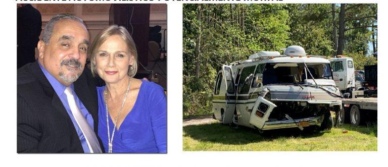 Willie Colón y su esposa Julia sufrieron un accidente de tránsito en Estados Unidos. Foto: @williecolon