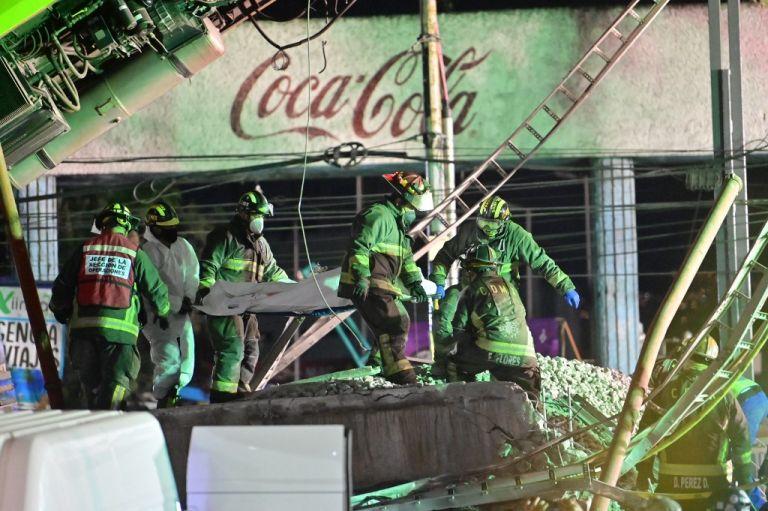 23 personas murieron y 70 resultaron heridas en accidente en el metro de México. Foto: PEDRO PARDO / AFP