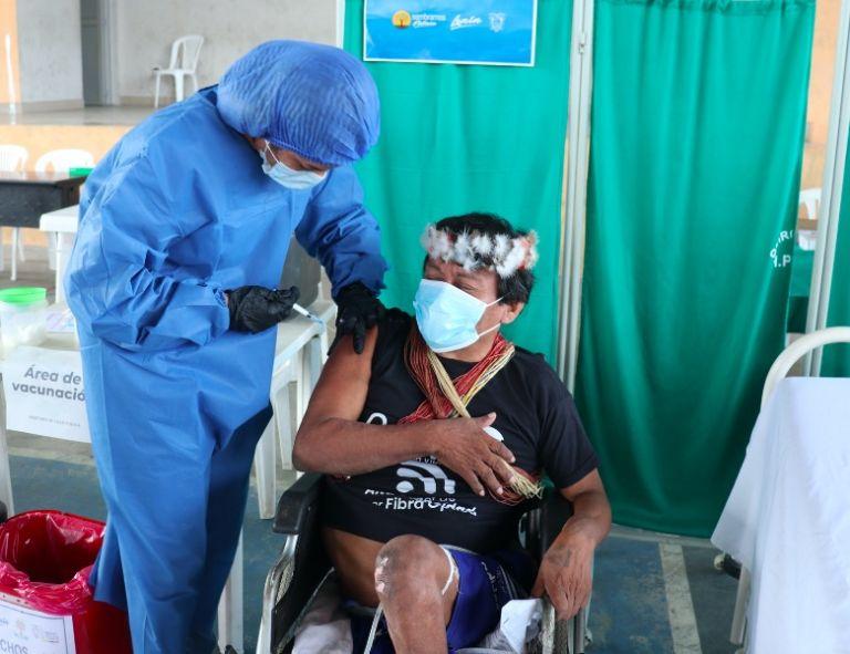 La población de indígenas waorani es de 600, 145 se contagiaron durante la pandemia.