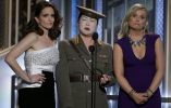 Tina Fey, Margaret Cho and Amy Poehler. Foto: REUTERS