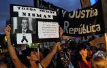 Los manifestantes caminaron entre el Congreso de Buenos Aires y la Plaza de Mayo. Foto: AFP
