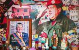 En una de las zonas de Venezuela tienen un santuario de Chávez. Foto: AFP