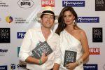 Carlos Stowhas y María Susana Rivadeneira, organizadores del evento. Foto: José Dimitrakis