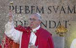 Papa Francisco en la misa del jueves Santo, en el Vaticano. Foto: REUTERS