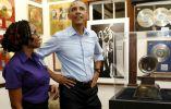 El presidente de EE.UU., Barack Obama, visitó recientemente el museo de Bob Marley en Kingston. Asegura tener todos sus discos.
