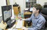 """A temprana edad, Zuckerberg fue denominado un """"genio"""" por el desarrollador David Newman."""
