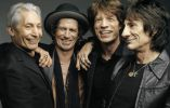 Charlie Watts, Keith Richards, Mick Jagger y Ron Wood. Foto: The Rolling Stones