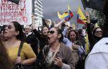Tercer día consecutivo de protesta en Ecuador contra un proyecto de ley que aumentaría los impuestos sobre sucesiones. JUAN CEVALLOS / AFP
