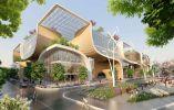 """Wooden Orchids: China. El arquitecto belga Vincent Callebaut diseñó """"Wooden Orchids"""", un centro comercial ecológico que será construido junto al río Yangtze, en la provincia de Jiangxi."""