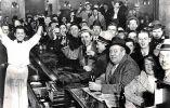 Celebrando el fin de la prohibición. 1933