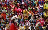 Los participantes en la 20ava convención internacional de payasos en México. Foto: Henry Romero / Reuters