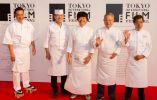 Los cinco mejores cocineros que participan en la extravagancia culinaria de TIFF, Tokio Cine Cocina: Mikizo Hashimoto; Masahiro Yoshitake); Yasuhiro Sasajima; Tateru Yoshino; y Hikoaki Tan | MANCE THOMPSON