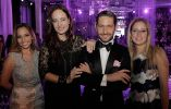 Andrea Lecaro (jefa de marca Güitig), Olga Doumet, Gustavo Moscoso, Claudia Nuñez (Brand Manager Regional).