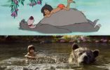 El personaje de Mowgli lo interpreta el debutante Neel Sethi, quien convenció a Favreau de entre 2.000 candidatos en una exhaustiva búsqueda por todo el mundo.