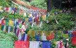 Parque Nacional de Khangchendzonga en India. Situado en el estado de Sikkim, al norte de India, este parque nacional se extiende por una parte de la cordillera del Himalaya y alberga un paisaje excepcional.
