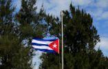 Tras la muerte de Castro, las banderas en Cuba se colocaron a media asta.