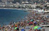 Playa de la Promenade des Anglais, Niza, Francia