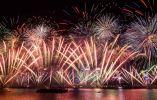 Año Nuevo en Hong Kong. Foto: AFP.