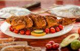 El apetecido camotillo frito, en Tarqui, Manta.